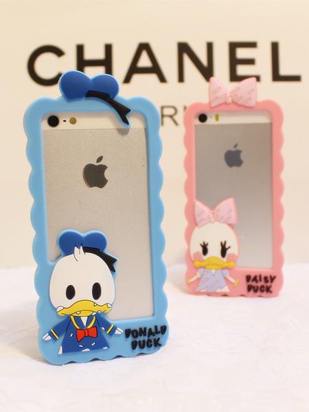 手机壳,iphone5s,苹果,iphone5,情侣,可爱,迪士尼,卡通,唐老鸭,黛茜