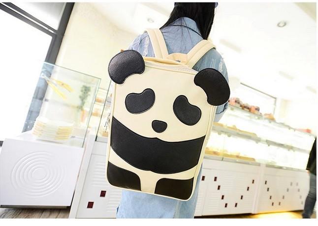 【免邮】日韩卡通可爱熊猫双肩包