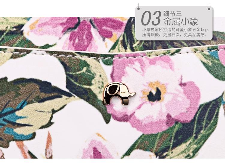 小象包袋日系卡通手绘可爱斜跨包