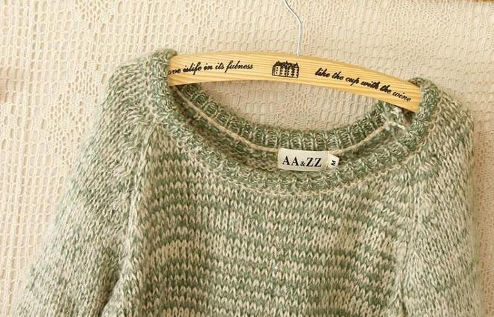 小清新森林系毛衣