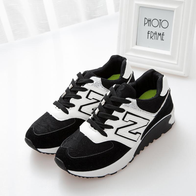 韩国n字休闲运动鞋
