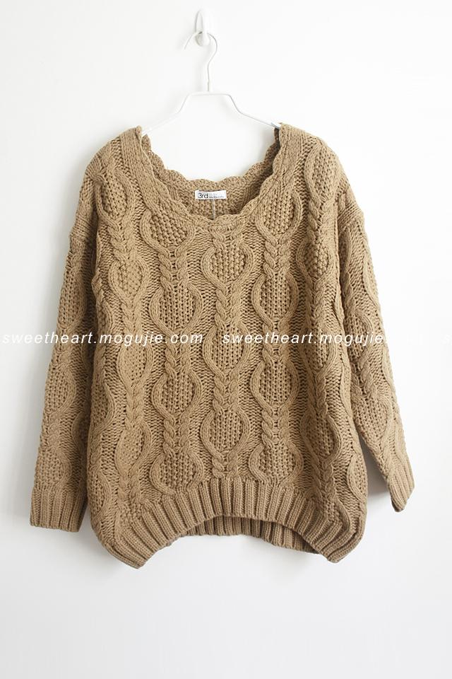 秋冬手工编织毛衣