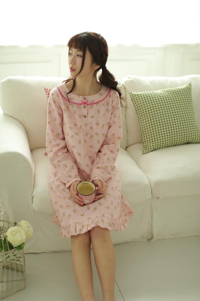 可爱的小熊睡裙-来自蘑菇街优店