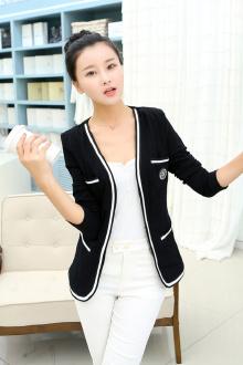 韩国同款轻薄外套小西装