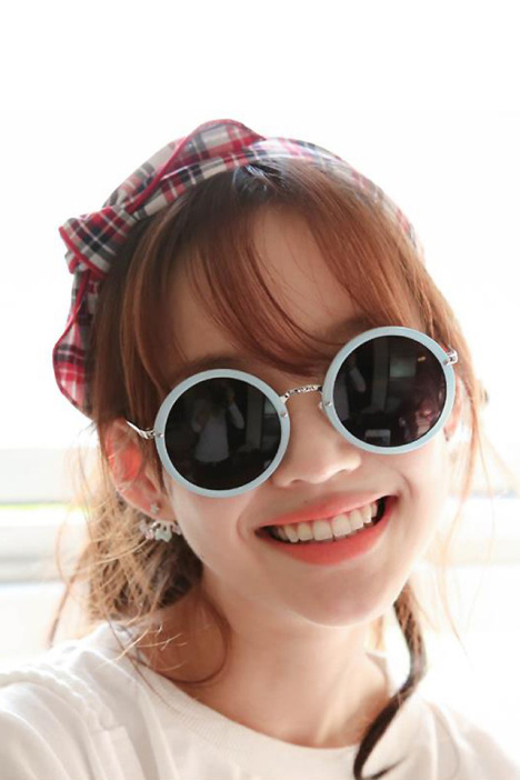 配饰,发饰,发箍,韩国,韩版,可爱,小清新,格子