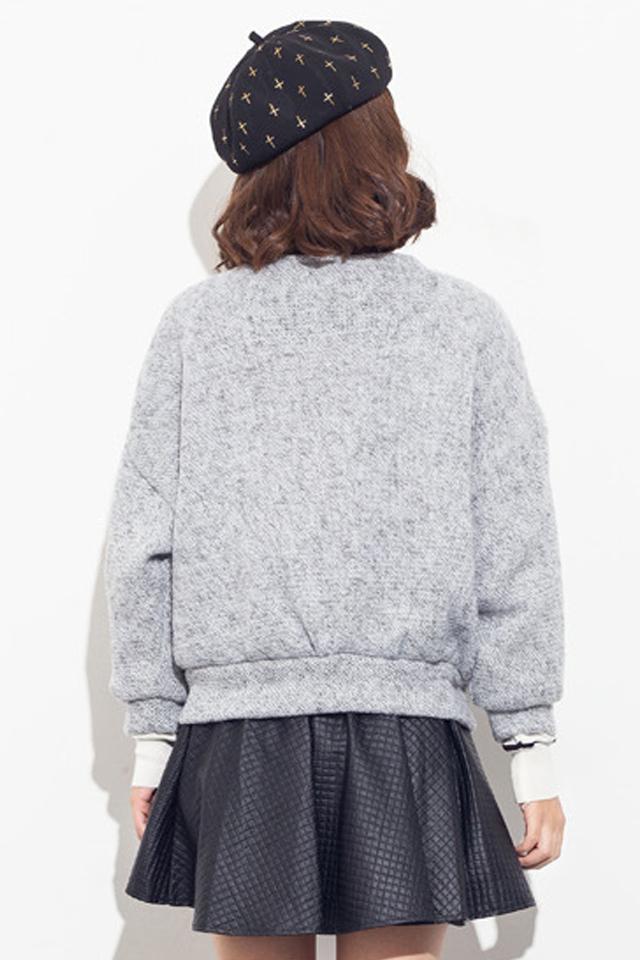 韩版针织开衫女式外套