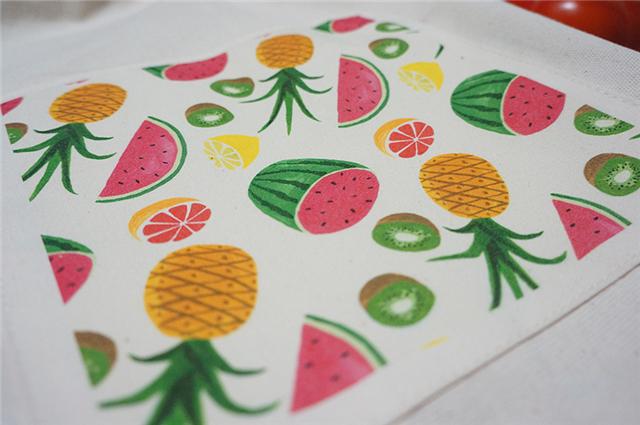 手工制作水果袋