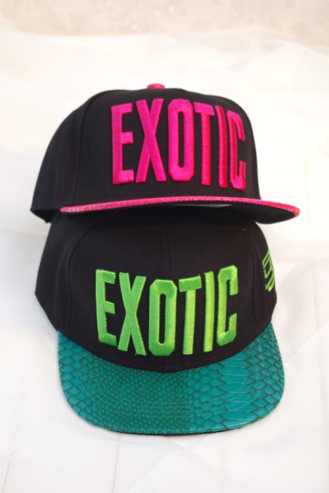 exotic字母帽子