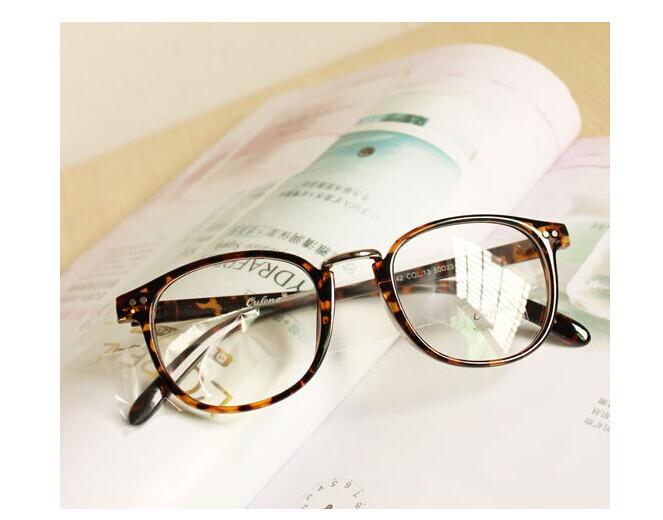 2014新品情侣款可爱范学生眼镜