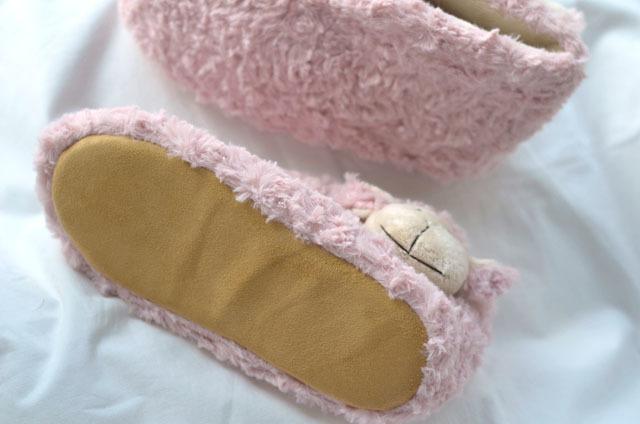 日系可爱卡通羊头保暖鞋
