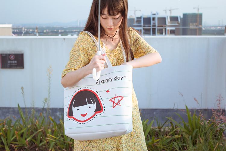 可爱女孩小清新帆布包