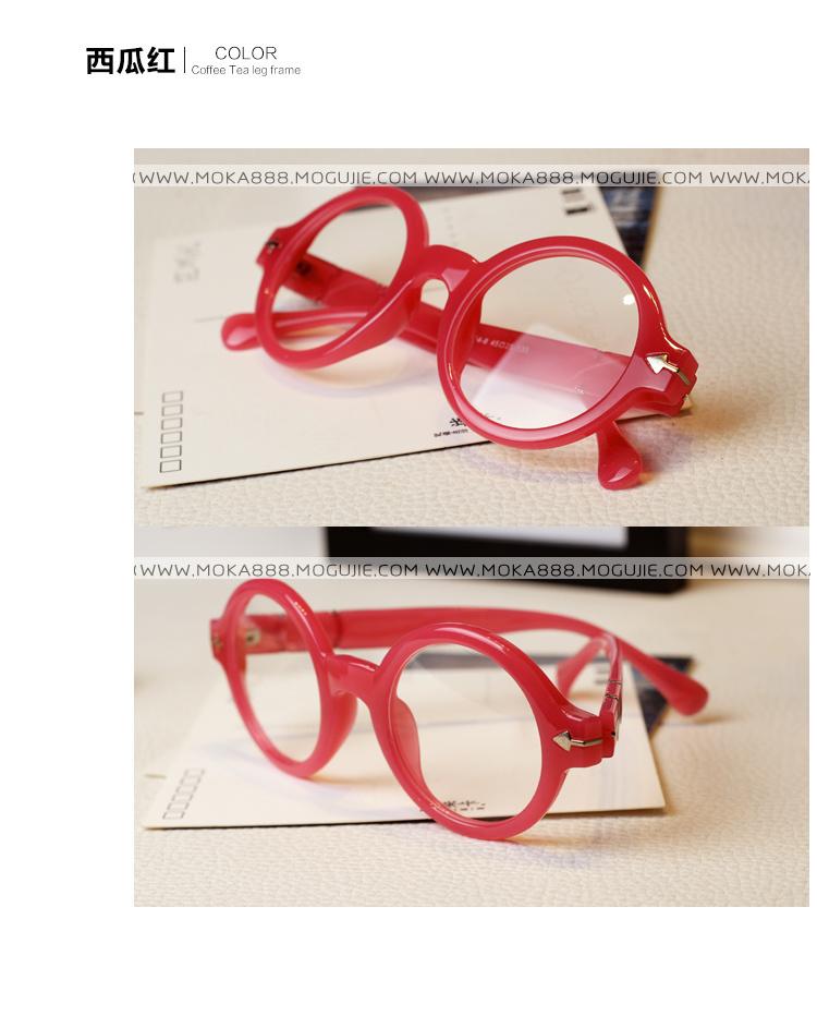 超可爱圆形眼镜框