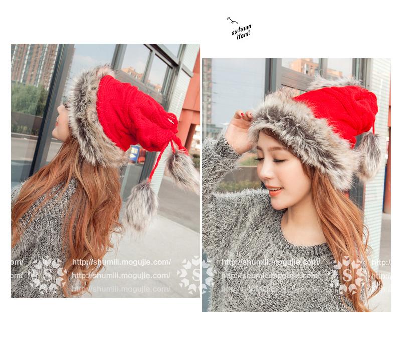 冬季新款可爱蒙古公主帽