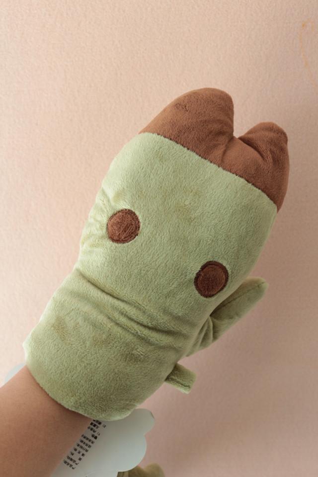 新款冬季可爱猪蹄儿保暖手套