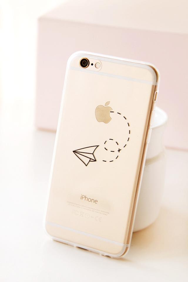 纸飞机iphone6手机壳