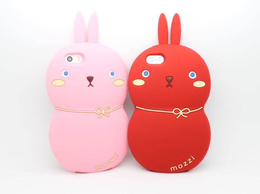 葫芦兔可爱卡通苹果手机壳