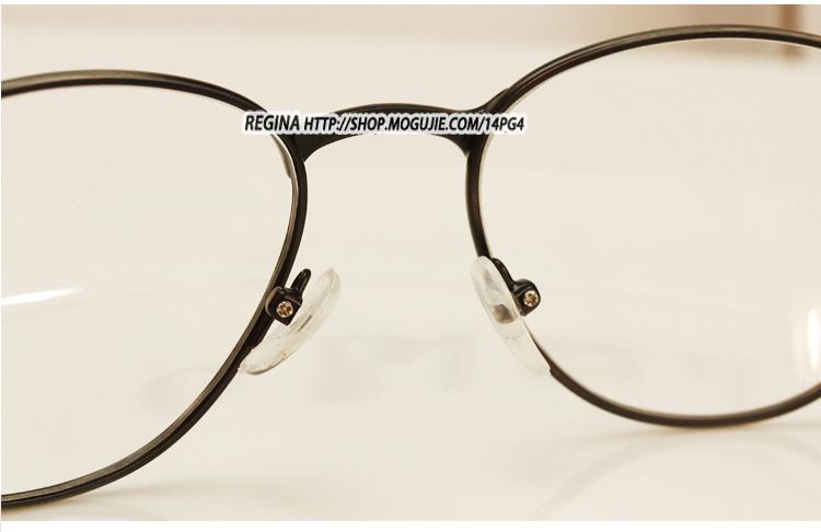 时尚复古花纹全金属眼镜框