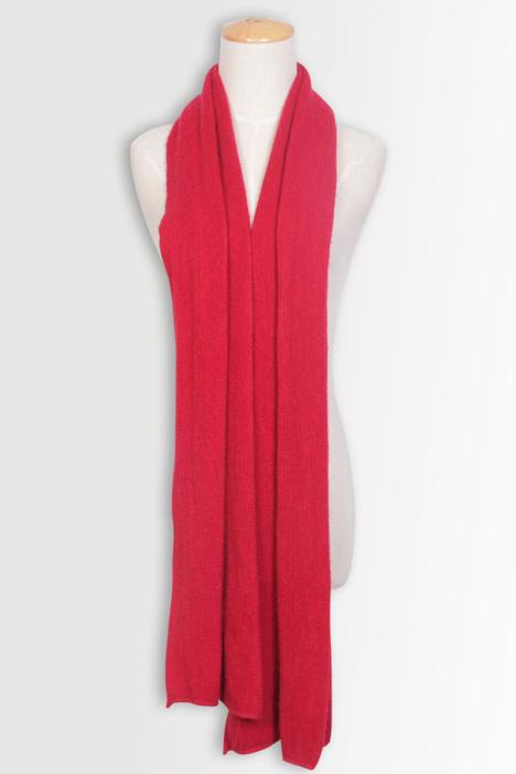 红色琉璃围巾-来自蘑菇街优店