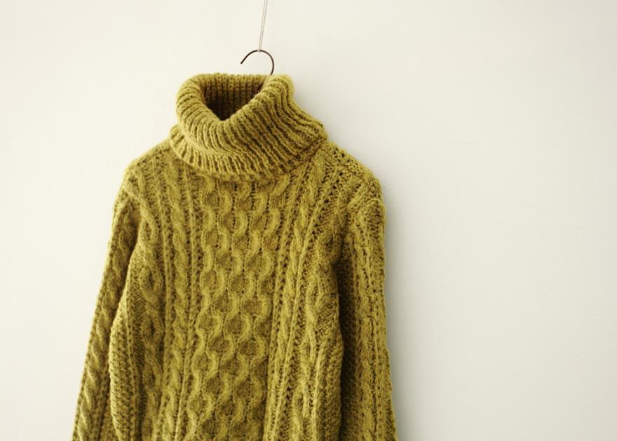 女士漂亮毛衣--细节编织
