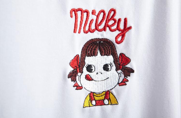 韩版可爱女孩刺绣t恤