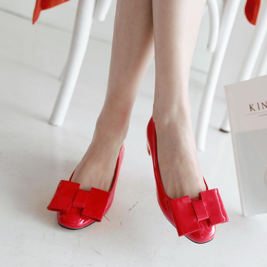 时尚可爱蝴蝶结单鞋