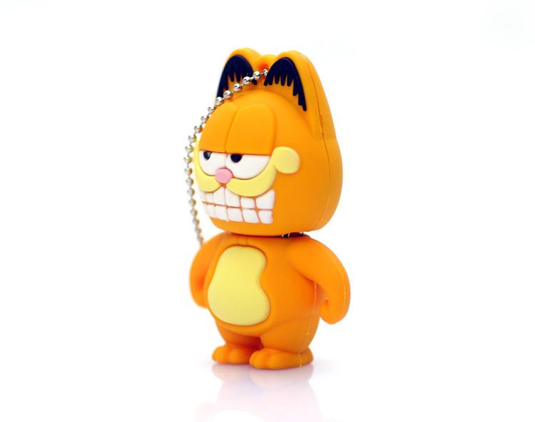 可爱的加菲猫,8gb卡通u盘
