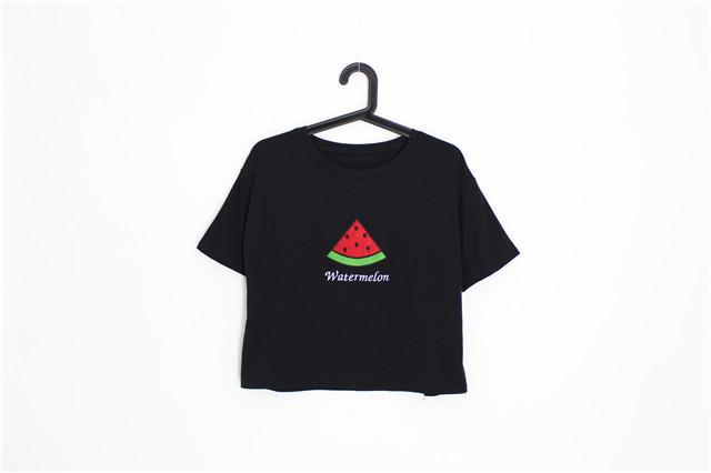 手绘t恤水果
