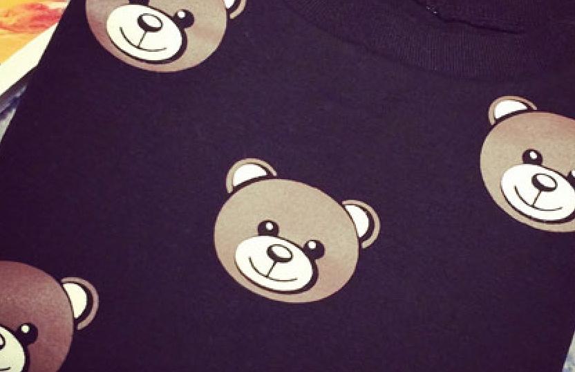 韩版可爱小熊短袖t恤