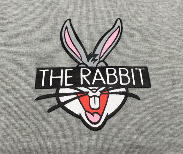 韩国可爱兔八哥图案t恤