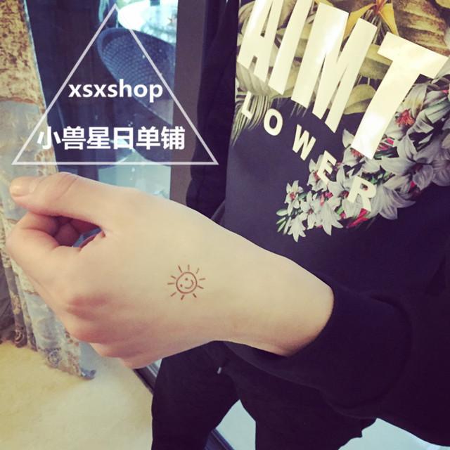 韩国清新小纹身图案分享展示