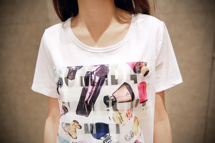 创意手绘青春t恤衫图案