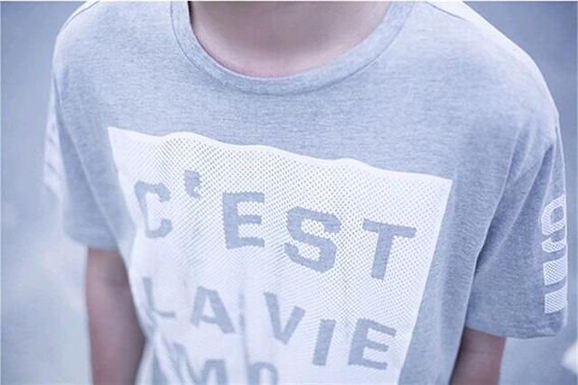 2015夏装新款印花图案短袖t恤