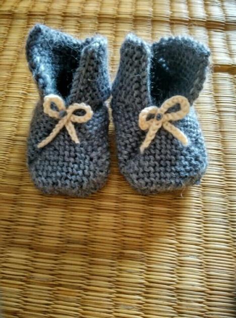 【纯手工 针织毛线 宝宝鞋】-无类目--mirror5521-街