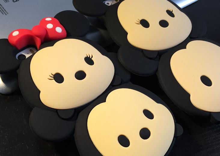 萌萌的迪士尼米老鼠手机壳