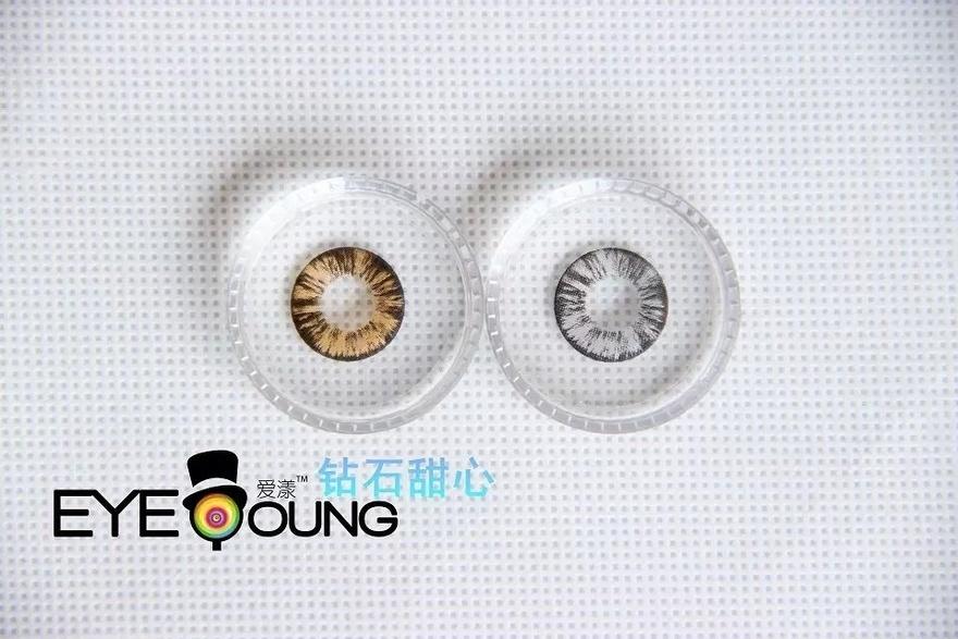 eye-young爱漾钻石甜心 韩国进口正品美瞳 隐形眼镜